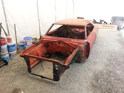 restauration totale Dodge Charger 1968