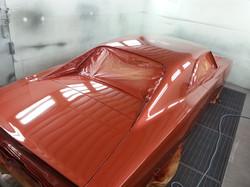 peinture Dodge Charger 1968