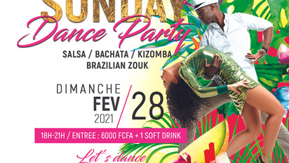 SUNDAY DANCE PARTY 28.02.21