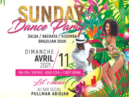 SUNDAY DANCE PARTY 11.04.21
