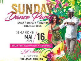 SUNDAY DANCE PARTY 16.05.21