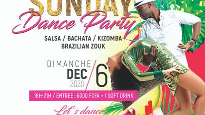 Dim 6 Déc. Sunday Dance Party.