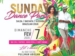 DIM 7 FEV 2021, SUNDAY DANCE PARTY !