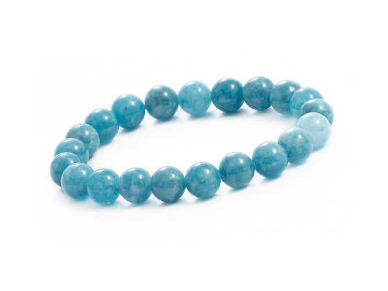 BRACELET CALCITE BLEU 6mm