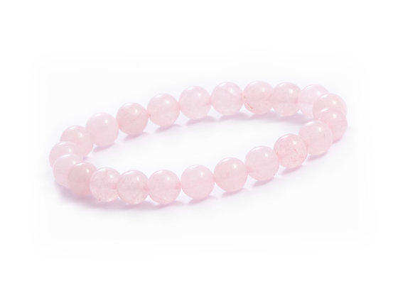 BRACELET QUARTZ ROSE 6mm