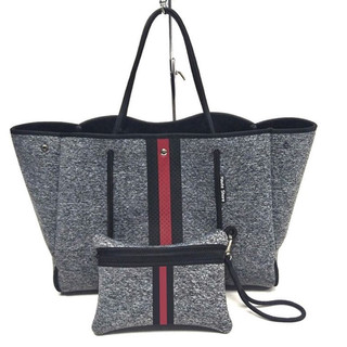 Neoprene tote with wristlet $89