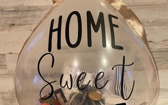 PoppablesbyVee Home Sweet Home Balloon