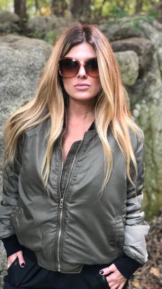 Bomber jacket $54