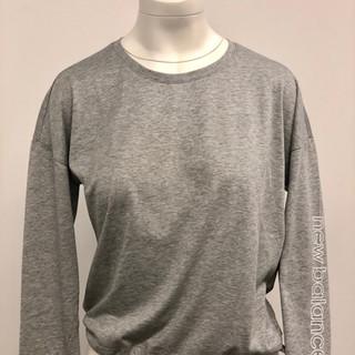 Gray New Balance long sleeve