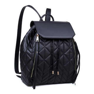 Quilted backpack $90