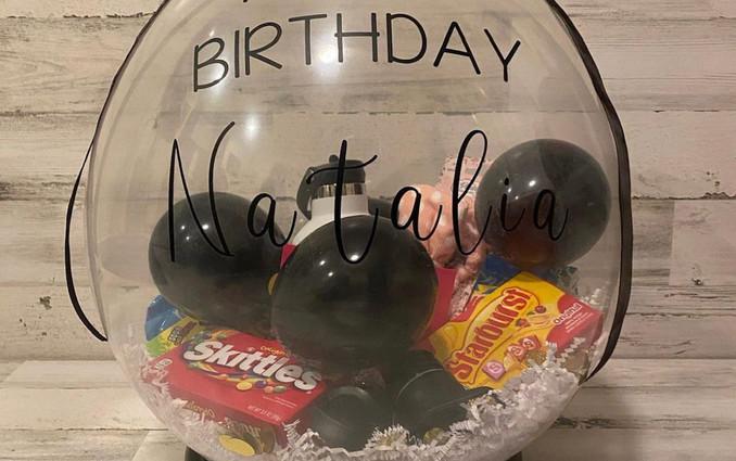 PoppablesbyVee Birthday Balloon