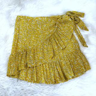 French Inspired Yellow Skirt