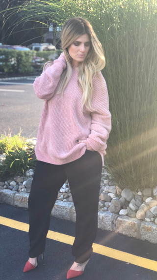 Chenille sweater $68