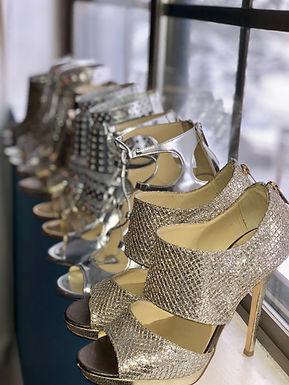 Inside Heather's Shoe Closet