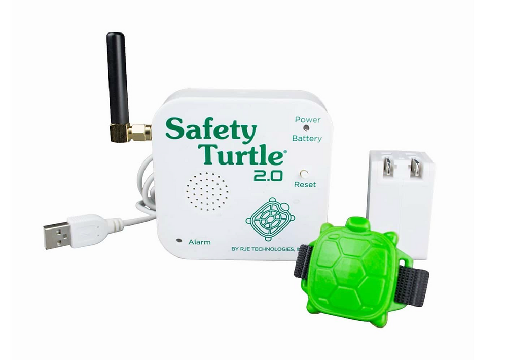 pool safety, beach safety with little ones you can never be too safe! These water monitors offer added protection to alert you when wet just in case your little one escapes your sight or gets into an unsafe water situation!
