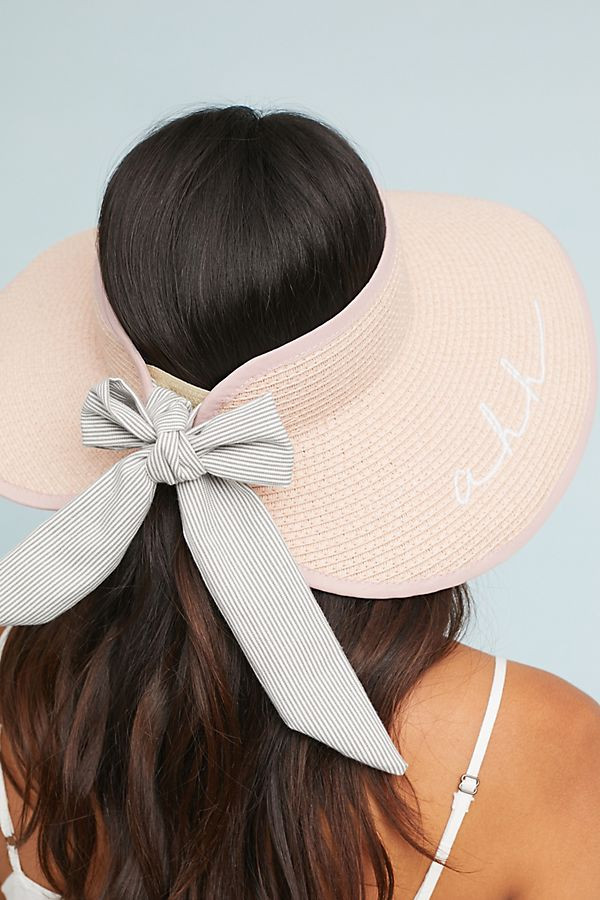 who doesn't love a good hat for the summer? keeps your skin safe and there are so many adorable choices! Mom - pick one or two for a little head fashion for the summer!