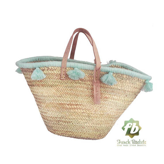 Accessories are key for the summer and I'm all about tassles right now! This tassle basket and tassle jewelry (see below) are adorable summer additions that are fun and frilly for summer!