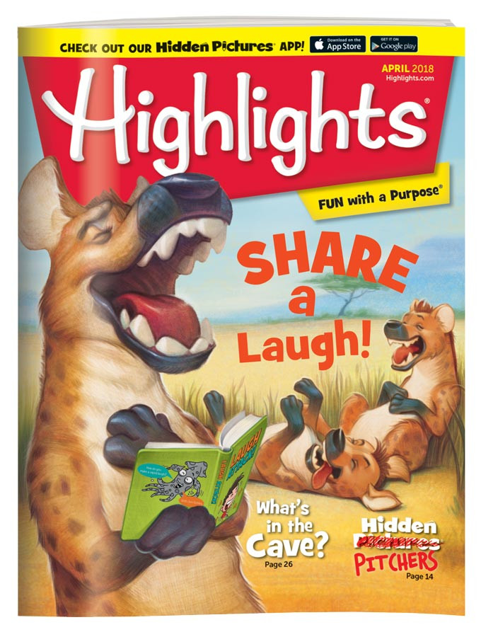 Highlights Magazine! There are issues for different age groups. Each kid has their own subscription in our house & gets their own magazine each month. They love it!