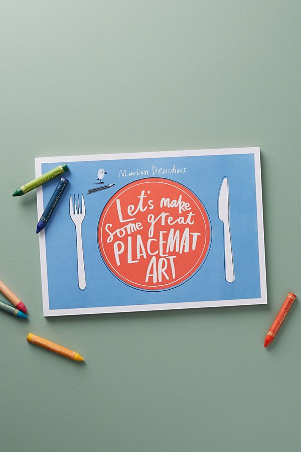 Traveling & eating out a lot! Take along place mats for the win!