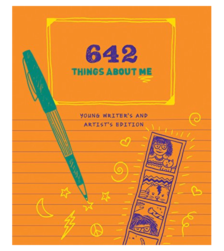 There's a kid and adult version of this book! So much fun and gets you thinking about things you'd never imagine! Great for elementary kids, beginning readers/writers.
