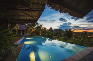 Infinity pool at Alamanda Villas Langkawi