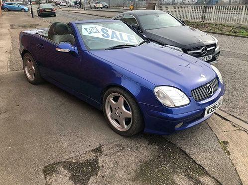 1999 Mercedes SLK200