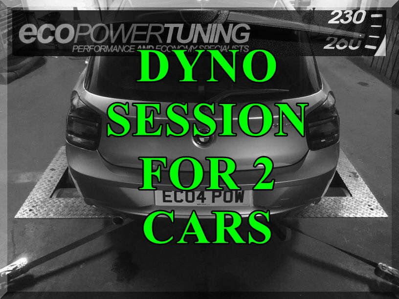 Power Run On The Dyno for 2 cars