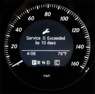 Mercedes-Benz B-Service
