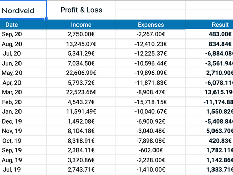 Profit and Loss - What Does It Tell You?