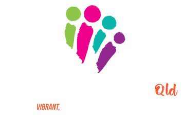 Roseberry Qld Logo - Stacked Inverted Fu