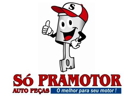 Só Pramotor (Bloco, Virabrequim, Cabeçote, Pistões, Anéis, Bronzinas de Biela e Mancal)
