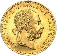 1 Ducat- Franz Joseph I