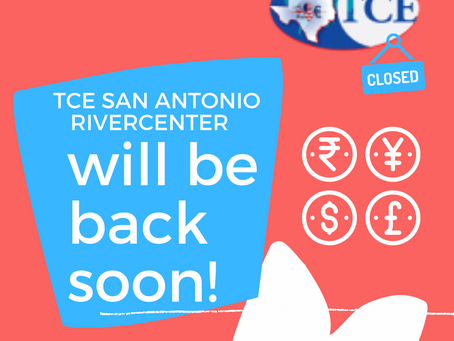 TCE SAN ANTONIO (Rivercenter Mall) is temporarily closed.