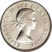 10 Cents - Elizabeth II 1st Portrait