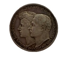 3 Mark - Wilhelm Ernst Duke's Marriage