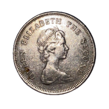 1 Dollar - Elizabeth II 1st Portrait