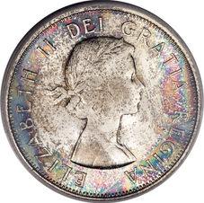 50 cents Elizabeth II