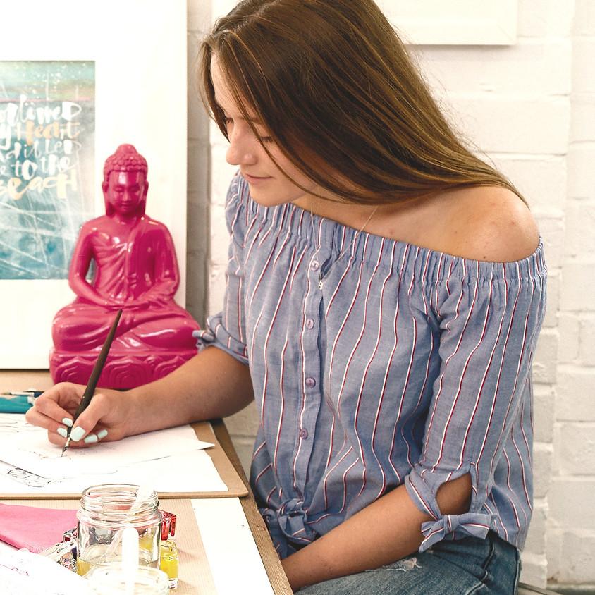 Chichester: Beginners Modern Calligraphy Pointed Nib Workshop - Evening