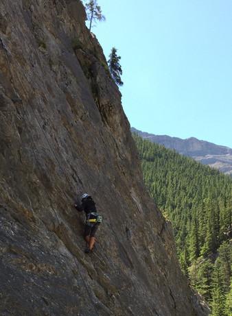 climbing @ Heart Creek