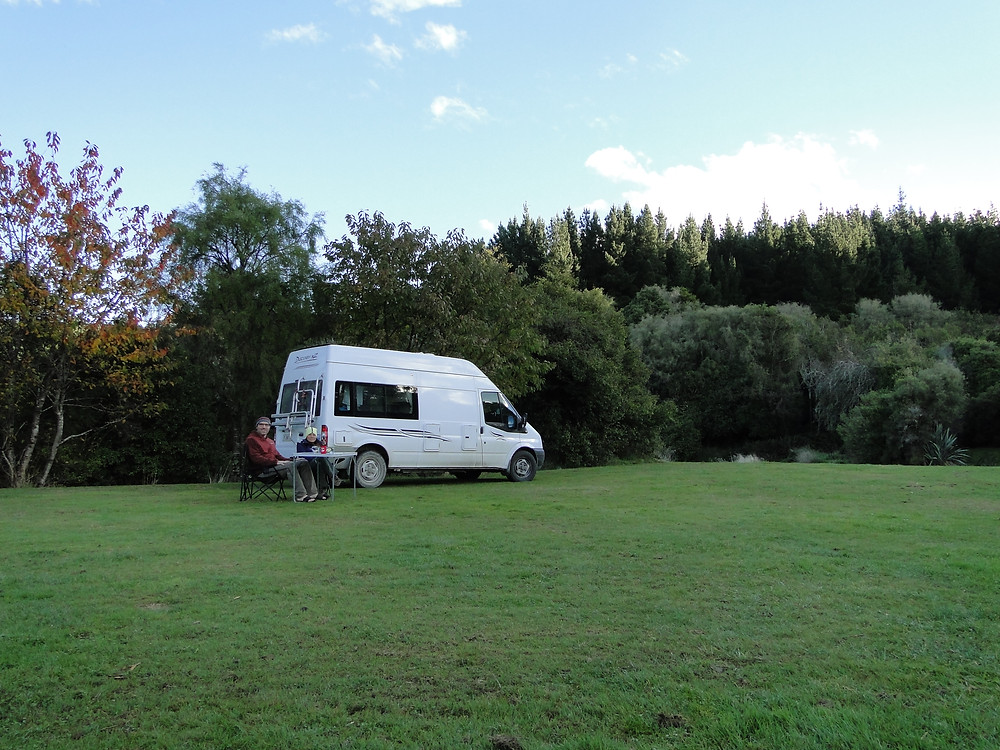 Dunsdale Scenic Nature Reserve free camp area