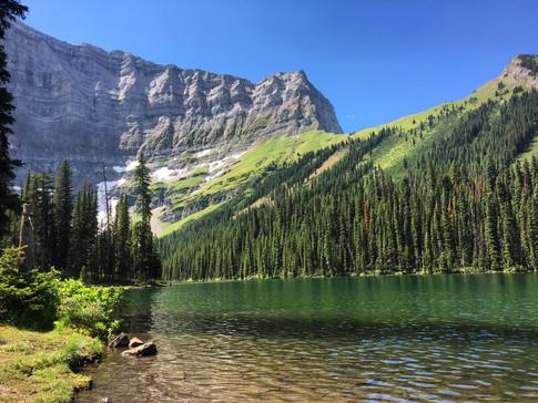 Mt. Sarrail & Rawson Lake
