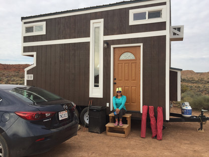 Tiny house glamping!
