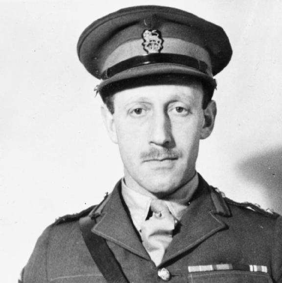 Brigadier Edmund Meyers, head of the British Military Mission. (Source: Wikimedia)