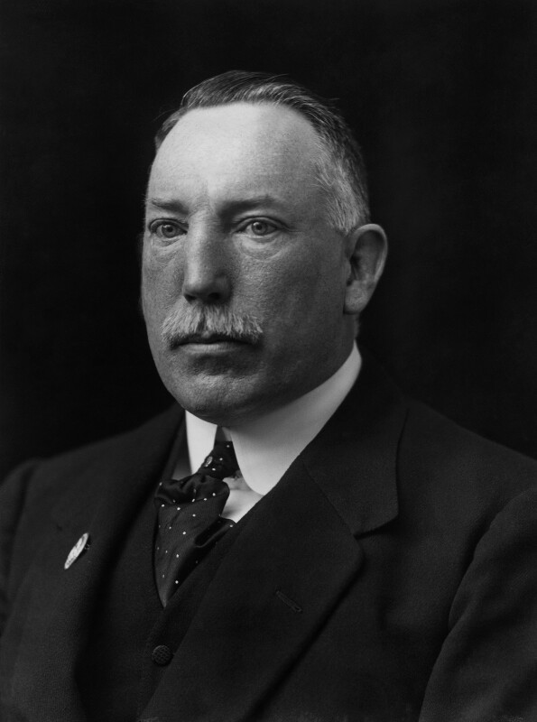 James Craig, 1st Viscount Craigavon by Walter Stoneman (Source: © National Portrait Gallery, London)