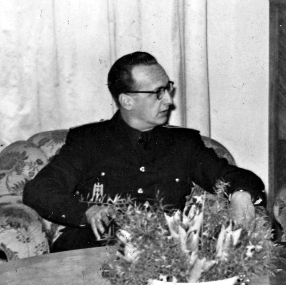 Gabriel Arias Salgado, c. 1943 (Source: Wikimedia)