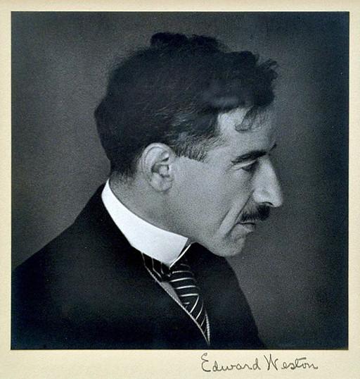 Portrait of Eloesser by Edward Weston. (Source: http://www.albavolunteer.org)