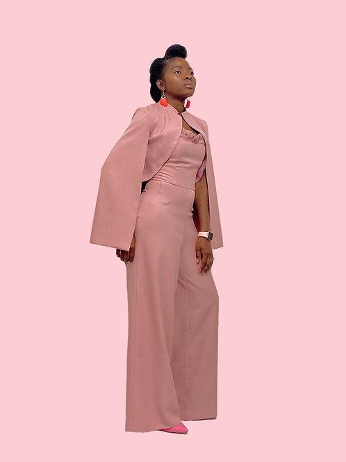 Pink Jumpsuit Set