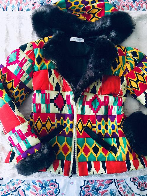 Aztec Bomber Jacket