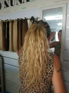 תוספת שיער מתולתל 100% טבעי