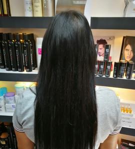 תוספות שיער חלק